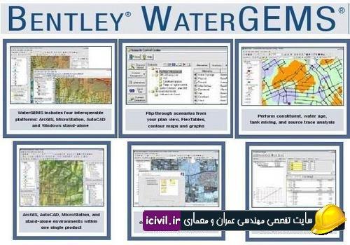 آموزش نرم افزار WaterGEMS