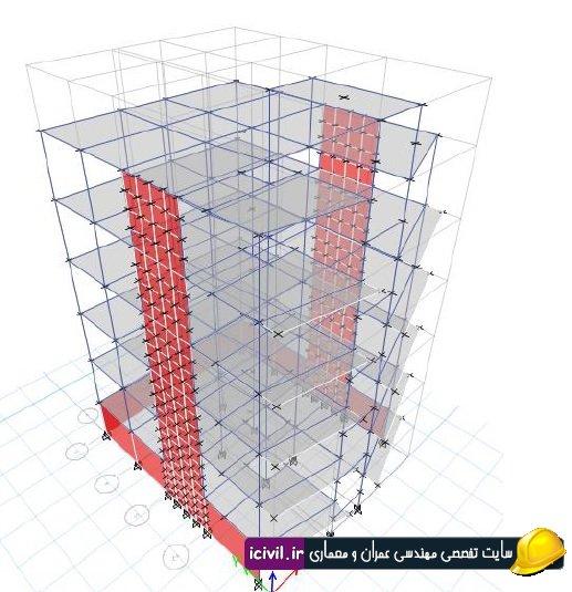 پروژه سازه های بتنی