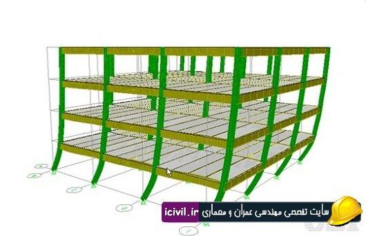 کنترل دریفت سازه فولادی